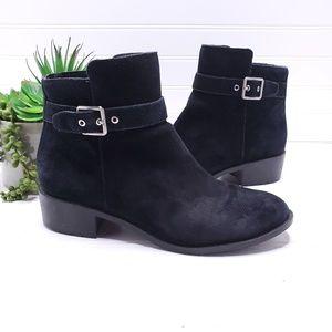 Cole Haan Calandra Waterproof Suede Ankle Boots